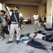 Blacks were systematically killed by the Libyan rebels.