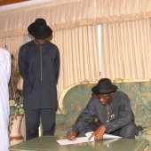 President Jonathan visit to Ghana