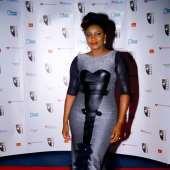 World Acclaimed Nollywood actress Omotola Jalade-Ekeinde awarded the prestigious Ebony Vanguard Award.