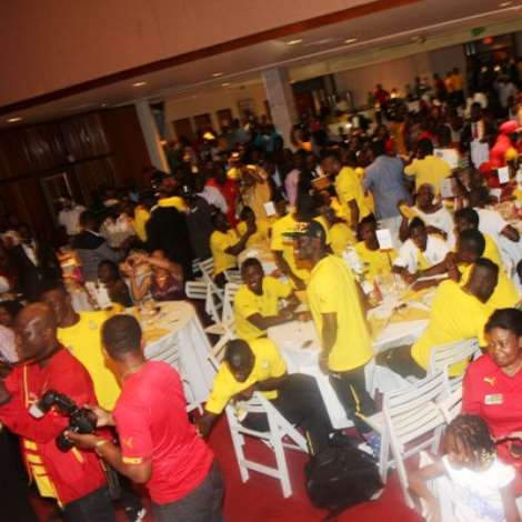 Black Stars Wrap Up World Cup Preparations In USA
