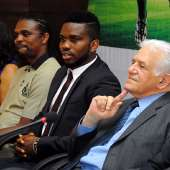 Nigeria's Biggest Football Stars Turn Up For Joseph Yobo's Big Centenary Game Launch