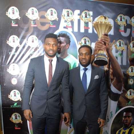 Nigeria's Biggest Football Stars Turn Up For Joseph Yobo's Big Centenary Game Launch