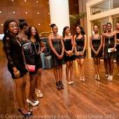 Miss Ghana 2012 finalists at the launch of GUINNESS VIP