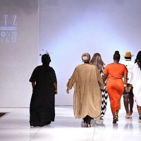 Latashangwube's #aboutthatcurvylife Collective Showcase At Glitzafrica Fashion Week