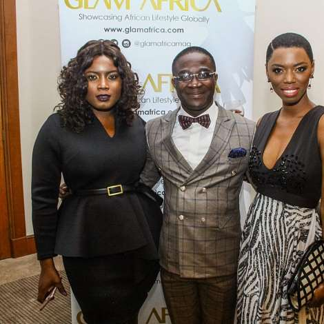 Celebs Join Glam Africa Magazine For Its South Africa Launch WithBonang Matheba