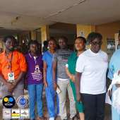 Selfless Ghana And Child President Diapers Donation To Mothers