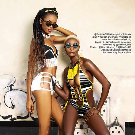 Sexy Swimwear Shoot With Grace Quaye & Celestine With Have Your Jaws Dropping