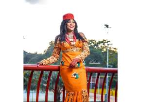 Blessing Ene Oche Ex Miss Benue Celebraty's Birthday In Style With Lovely Photos