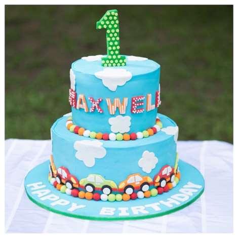 Stephanie Linus' son, Maxwell's 1st Birthday Party