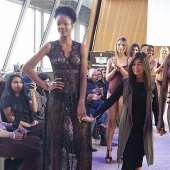 Karishma Jumani creates history for Lingerie at Eiffel Tower