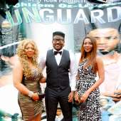 Genevieve Nnaji's emotional encounter at the Lagos Movie Premiere of UNGUARDED