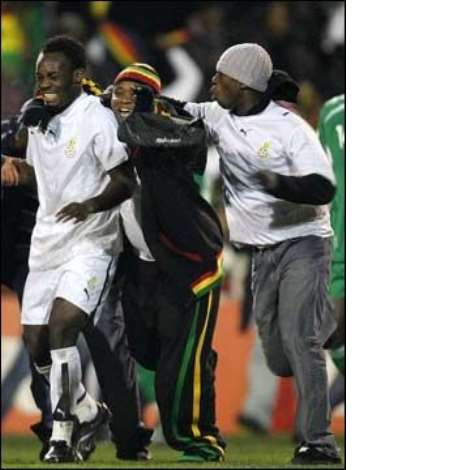 GHANA VRS NIGERIA. 6TH FEB.2007