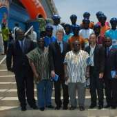 LAUNCHING OF THE 'COWBELL NATIONAL CYCLING TOUR OF GHANA 2011