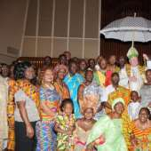 THE GHANAIAN CATHOLIC COMMUNITY OF THE BRONX, NEW YORK, CELEBRATES GHANA'S 54TH INDEPENDENCE ANNIVERSARY WITH THE MOST REVEREND TIMOTHY M. DOLAN, ARCHBISHOP OF NEW YORK.