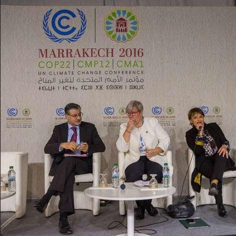 2016 UN Climate Change Conference COP22 Marrakech, Morocco Nov. 7th - 18th