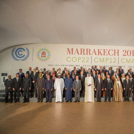 High Level Session Of UN Climate Change Opens At COP22 Marrakech