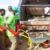 Kasoa: Pentecost Church, Zoomlion Champion Massive Clean Up