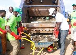 Kasoa: Pentecost Church, Zoomlion Champion Massive Clean Up