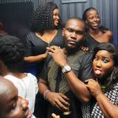 Tiwa Savage, Dr Sid, Olamide, Phyno, Burna Boy, Others Celebrate At Mama Nominees Party