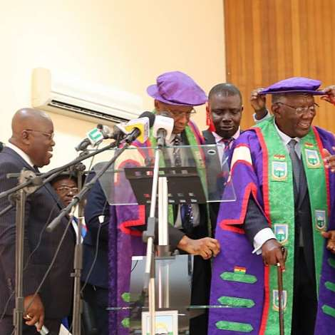 Former President Kufuor Becomes Chancellor Of Umat