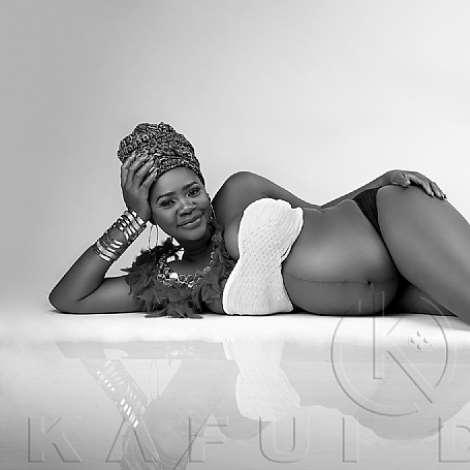Kafui Danku Pregnancy Pictures