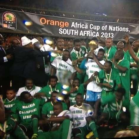 Nigeria Wins Third Nations Cup, Beats Burkina Faso 1-0
