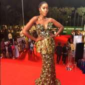 #StyleGoals: Vimbai SLAYS In Moofa Designs At Abryanz Style And Fashion Awards