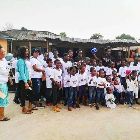 Sonnie Badu Adopts Chosen Children Center Orphanage Home