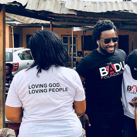 Sonnie Badu Adopts Chosen Children Center Orphanage Home