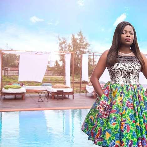 Funke Akindele Is The New Face Of Ayo Van Elmar!