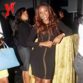 Rukky Sanda, Ini Edo, Genevieve, Goldie And Others Rock In Black At The DSTV Nominee Party
