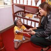 OMOTOLA PREACHES 'GIVE AND LET GIVE