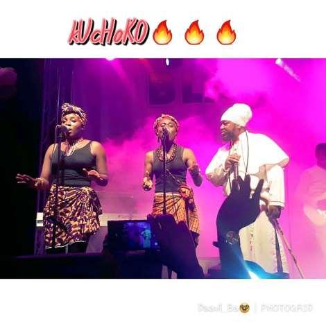 Kuchoko In The Ghetto: Blakk Rasta Sets West Hills Mall On Fire