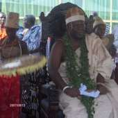 Ga Homowo 2007-Grand Durbar at the Forecourt of Ga Mantse Palace