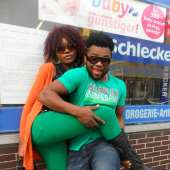 Nollywood actor Johnpaul Nwadike's fun in Germany (photos)