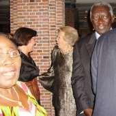 President Kuffour in Nederland 21 oktober 2008