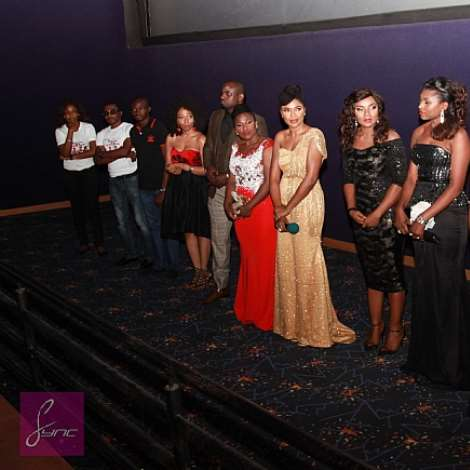 WIVES ON STRIKE WORLD PREMIERE: Omoni Oboli, 2Face & Annie Idibia, Sony &Betty Irabor