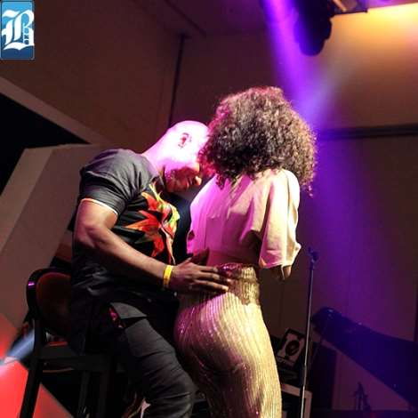 Niyola Gives Lucky Fan Sexy Lap Dance At Eargasm Concert