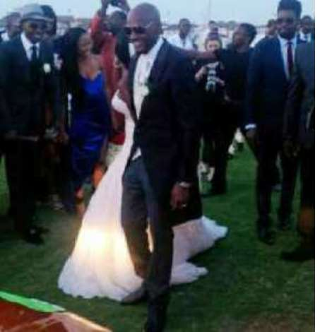 2FACE AND ANNIE WHITE WEDDING