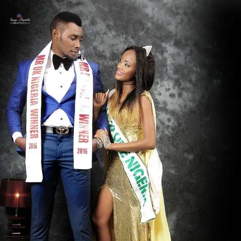 Mr Uk Nigeria And Miss One Nigeria In Astunning Shoots.
