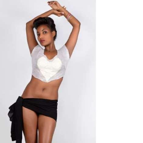 Ethiopian Model, Melat Abera Dazzles In New Photos