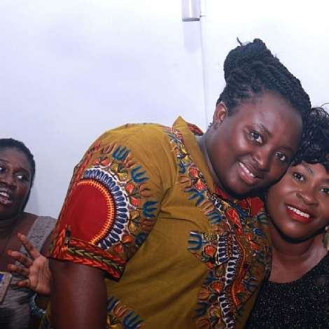 Adonko Bitters Surprised Roselyn Ngissah On Her Belated Birthday Celebrations