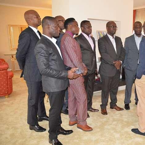 Farewell to HE Dr. J. Tony Aidoo Ghana's Ambassador to Netherlands at his Residence in Wassenaar