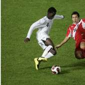 Ghana vrs Peru at the FIFA U-17 World Cup Korea 2007