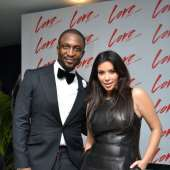 Kim Kardashian At Darey's 'Love Like a Movie' Event In Lagos *