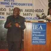 The Institute of Economic Affairs(IEA) Host An Euening Encounter with Nana Addo Dankwa Akufo-Addo