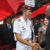 Vice President Kwesi Amissah Arthur Observes Remembrance Day