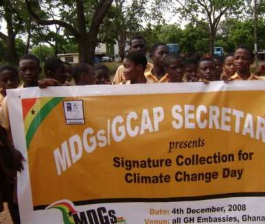 GHANA YOUTH CLIMATE GLOBAL CLIMATE DAY4