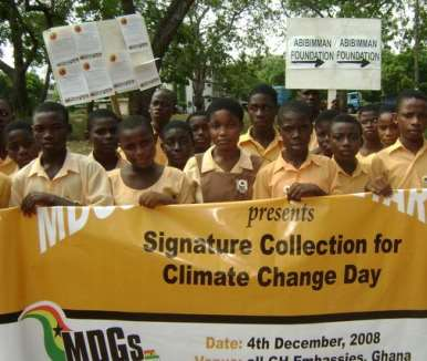GHANA YOUTH CLIMATE GLOBAL CLIMATE DAY5