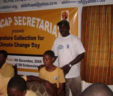 GHANA YOUTH CLIMATE GLOBAL CLIMATE DAY6